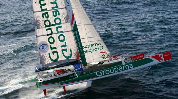 sponsoring d part de la route du rhum la banque postale franck cammas sur groupama 3 se confie. Black Bedroom Furniture Sets. Home Design Ideas