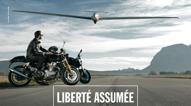 publicit libert assur e selon la mutuelle des motards vid o. Black Bedroom Furniture Sets. Home Design Ideas