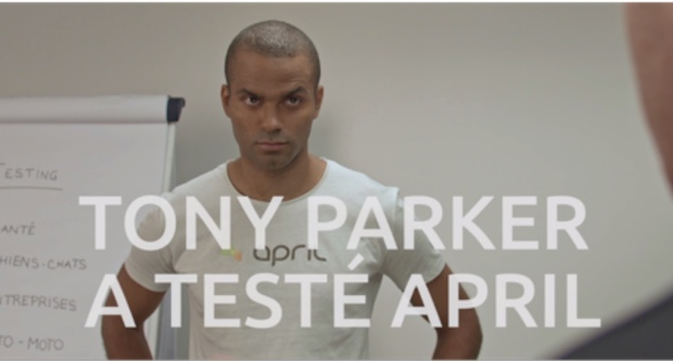 Tony Parker mis en scène dans un nouveau spot publicitaire web