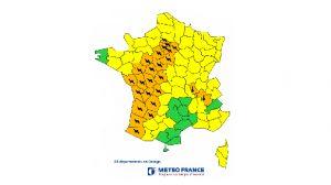 Alerte Météo France / Orages : Quels conseils de vigilance pour les 28 départements en alerte orange ? (mis à jour)