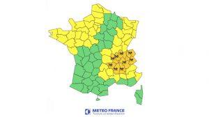 Alerte Météo – 7 et 8 juillet 2011 : Orages, grêle et vents attendus dans la région Rhône-Alpes