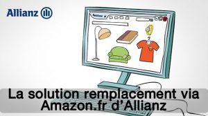 La solution remplacement via Amazon.fr
