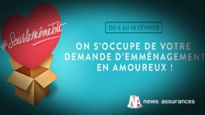 Marketing : Axa lance un jeu pour la Saint Valentin