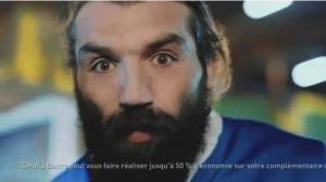 Publicité / Mutuelle : Sébastien Chabal de retour pour Smatis