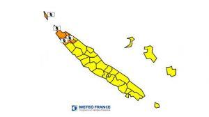 L'extrême nord de la Nouvelle-Calédonie en alerte cyclonique orange
