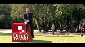 Assurance en ligne / Publicité : Nouvelle campagne pour Direct Assurance
