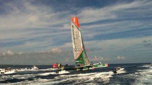 Route du Rhum : Franck Cammas vainqueur sur Groupama 3