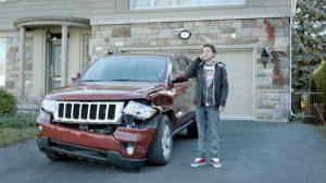 73% des accidents de la route à proximité du domicile
