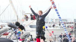Sponsoring / Vendée Globe : Victoire de Gabart qui bat le record de la course sur Macif