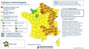 Météo France : Alerte orange neige dans 29 départements, annulation de 20 à 30% des vols à Paris