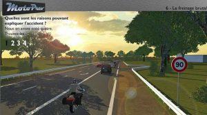 MotoPrev, un module qui analyse les situations à risques pour les motards