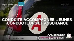 Vidéo : Conduite accompagnée, jeunes conducteurs et assurance