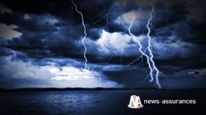 Orage :  l'Hérault placé en vigilance rouge