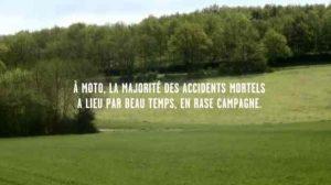Moto / Prévention : Nouvelle campagne de publicité à destination des motards