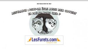 Le site LesFurets.com vulgarise l'assurance en vidéo