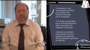 Questions D'assurés : Sinistre avec un véhicule de prêt