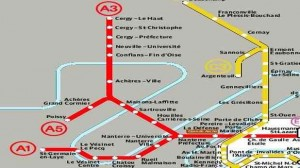 Transport / Paris : Interruption de trafic maintenue sur le RER A