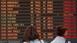 La grève des contrôleurs aériens touche 20% des vols vers le sud de la France, le Maghreb, l'Espagne et Portugal