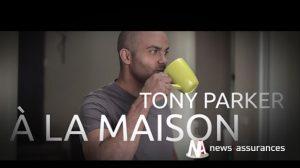 Tony Parker : le nouveau visage d'April