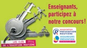 """Concours """"les Clés 2014 de l'Éducation Routière"""""""