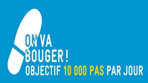 """50.000 participants pour l'événement """"On va bouger! Objectif 10.000 pas par jour"""""""