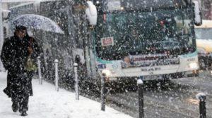 RATP / Neige : 6 lignes de bus supprimées, 16 déviées