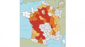 Météo France / Sécheresse : Plus de la moitié de la France affectée, la carte des restrictions d'eau
