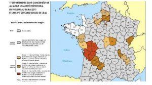 Météo France : La sécheresse se renforce, la carte des restrictions d'eau