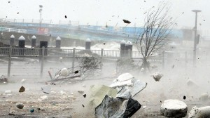 Cat Nat : Le Japon affronte le typhon Neoguri et attend des vents de 270km/h