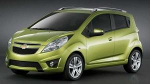 Assurance auto : La Chevrolet Spark, voiture la moins chère à assurer