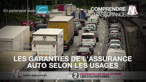 Les garanties de l'assurance auto selon les usages
