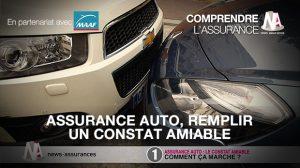 Assurance auto remplir un constat amiable