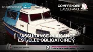 L'assurance plaisance est-elle obligatoire ?