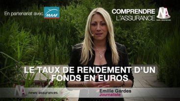 Assurance-vie : le taux de rendement d'un fonds en euros