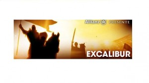 Spectacle / Excalibur : Allianz en haut de l'affiche