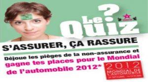 Concours / Fonds de garantie : Des places à gagner pour le Mondial de l'auto