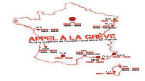 Air France : Appel à la grève samedi 21 décembre