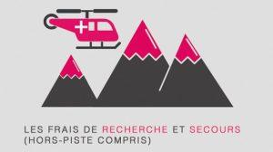Infographie : Tout savoir sur les assurances ski et le coût de secours