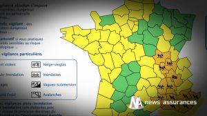 Intempéries : Météo-France place 15 départements du Sud-Est en alerte orange