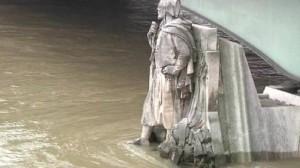 Trafic / Bison Futé : Des voies sur berges fermées à Paris dues à la montée du niveau de la Seine