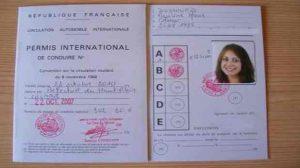 Assurer une voiture avec un permis international