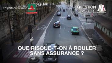 Que risque-t-on à rouler sans assurance ?