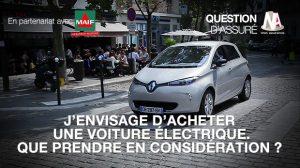 Vidéo : Voiture électrique : que prendre en considération ?