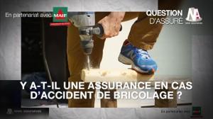 Vidéo : Y-a-t-il une assurance en cas d'accident de bricolage ?