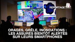 Assurance auto/habitation : Bientôt une alerte sur smartphone en cas d'orage ou d'inondation