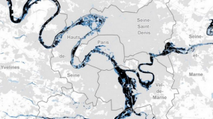 Si la crue de la Seine de 1910 revenait, votre maison serait-elle inondée?
