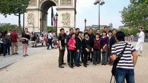 L'embellie touristique à Paris grâce aux touristes américains et chinois