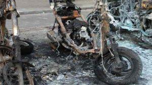 Vandalisme / Paris : Les incendies de deux-roues se propagent sur plusieurs arrondissements
