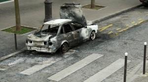 Auto : L'indemnisation des voitures brûlées